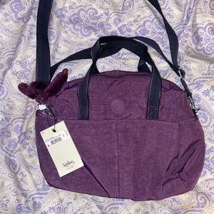 Kipling purple crossbody